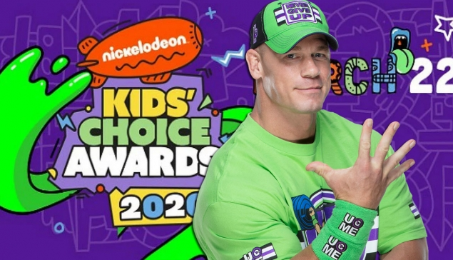 Deux stars WWE nominées au Nickelodeon Kids Choice Awards 2020