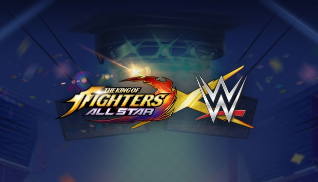 Les Superstars WWE rejoignent les combattants de King Of Fighters All-Star