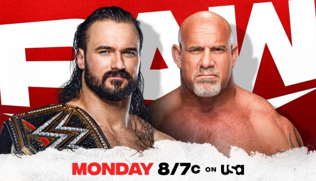 Preview : WWE RAW du 25 janvier 2021