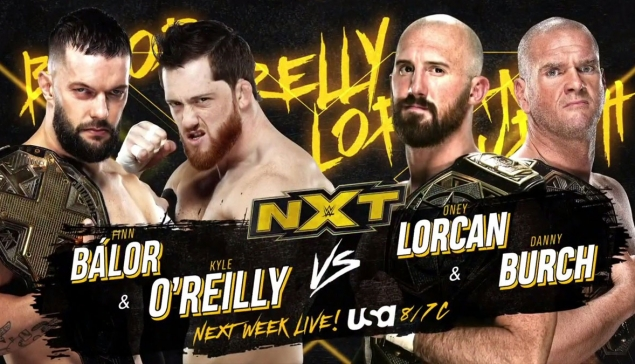Preview : WWE NXT du 27 janvier 2021