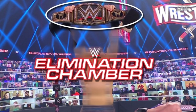 UN NOUVEAU CHAMPION ! (Review WWE Elimination Chamber 2021)
